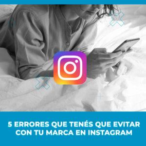 errores para evitar en Instagram